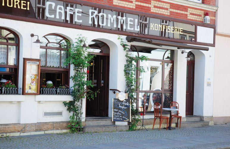 Restaurant und Café Rommel in Erfurt