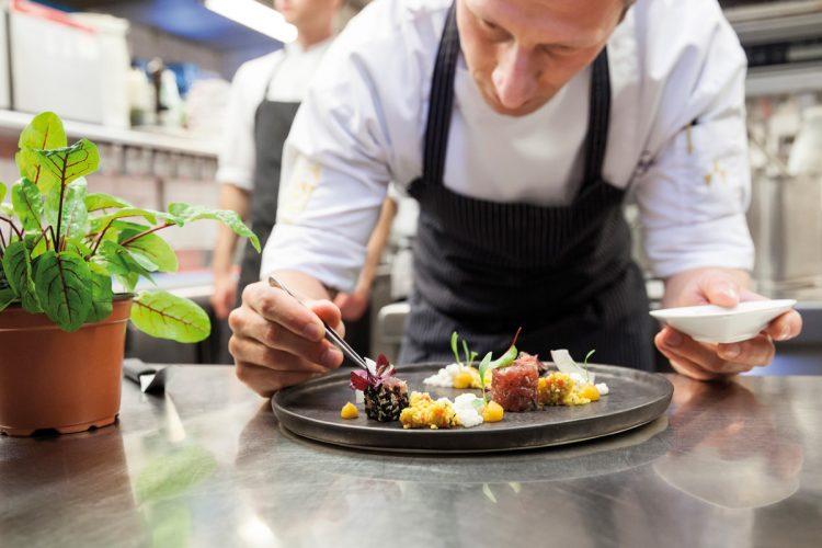 Hotel Vier Jahreszeiten Starnberg, Gourmetrestaurant Aubergine