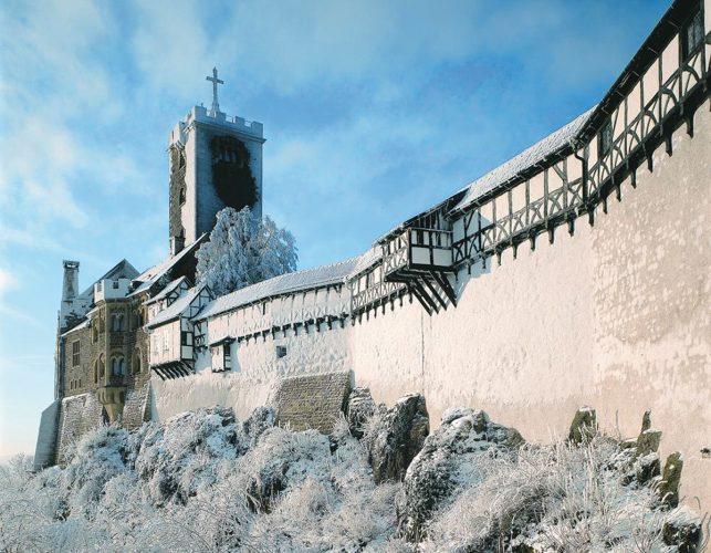 Das Romantik Hotel auf der Wartburg in Eisenach